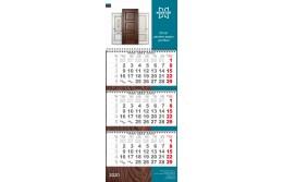 Стильный календарь от фабрики Новатор на 2020 год